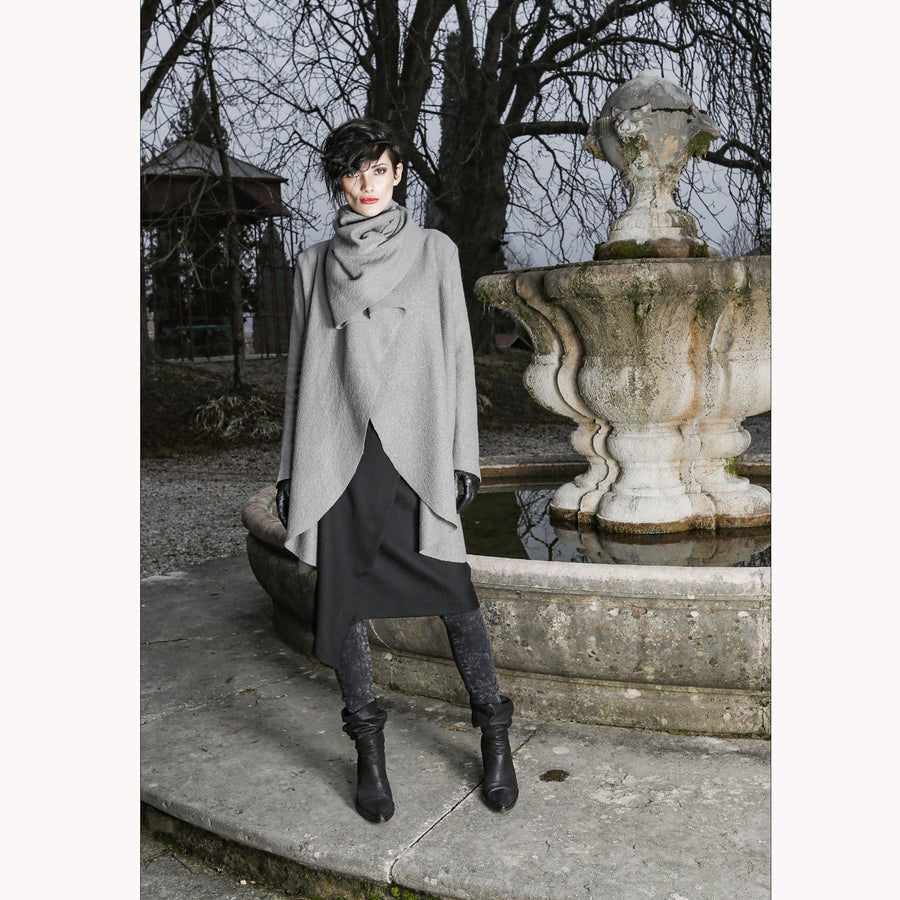 EBI CAPE COAT- CAPPOTTO