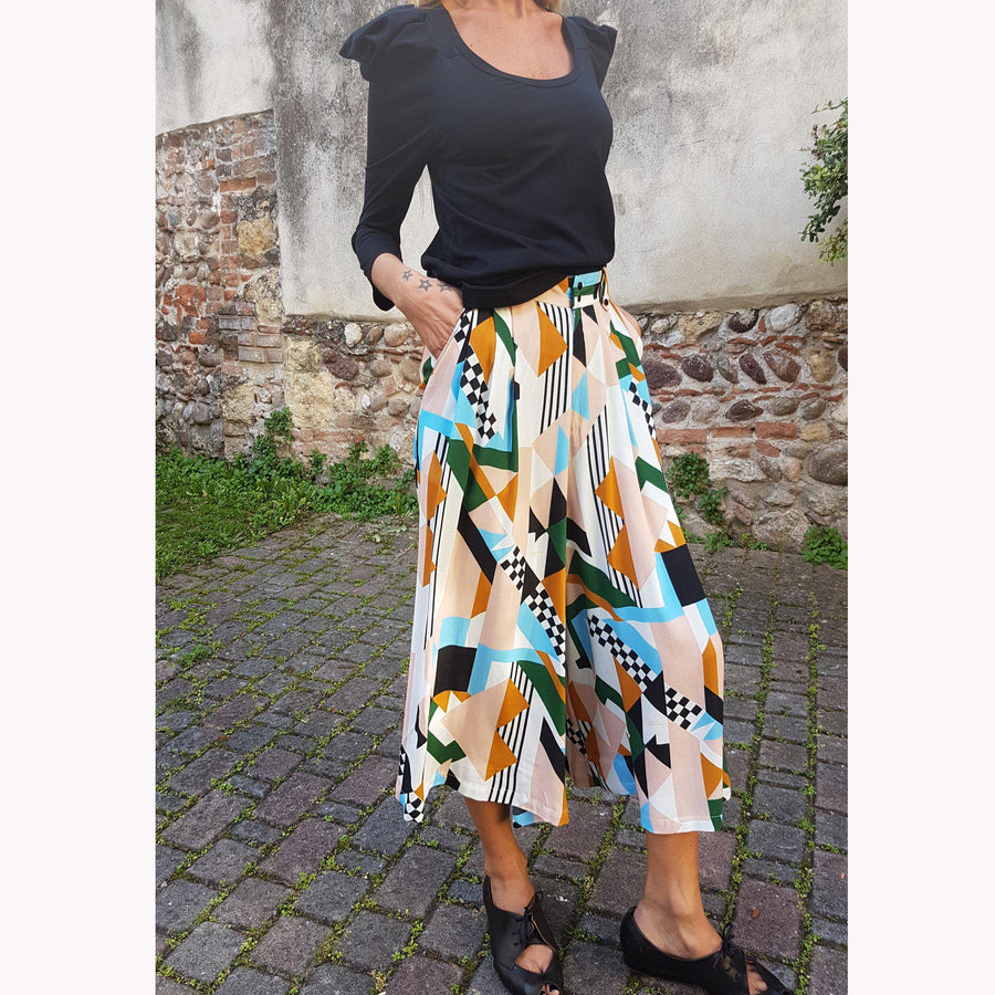 NABI- GONNA PANTALONE- PANTSKIRT