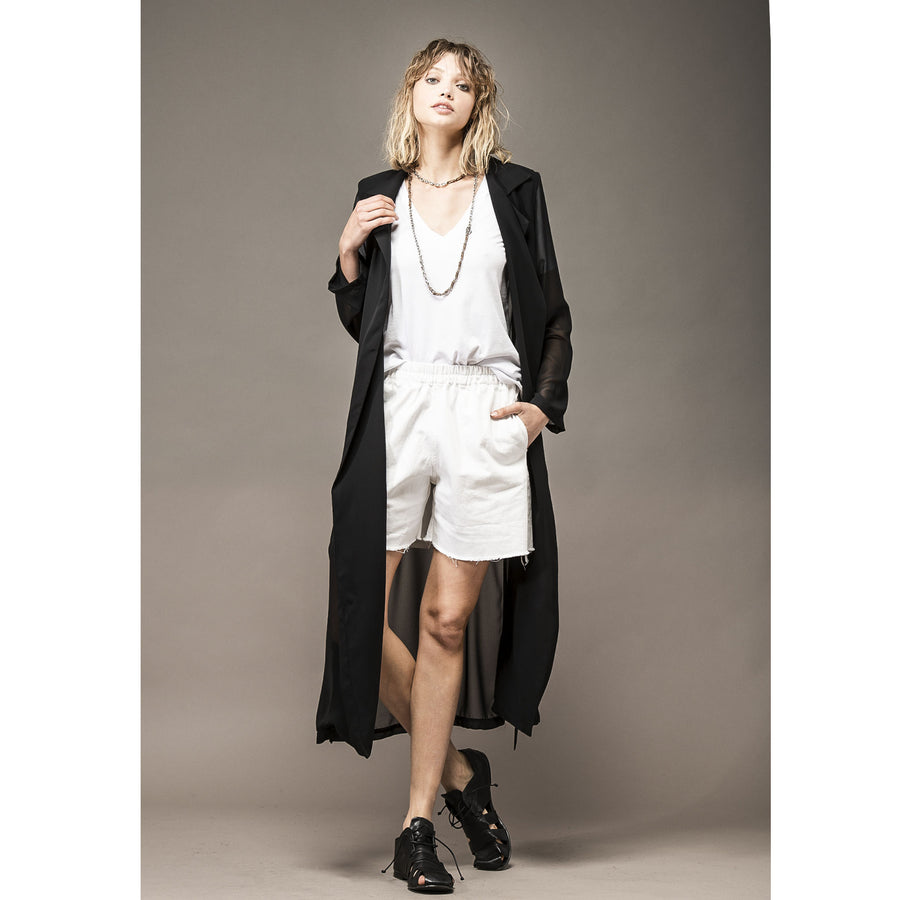PIXIE - Voile trench / soprabito giacca  Allez Les Moeufs