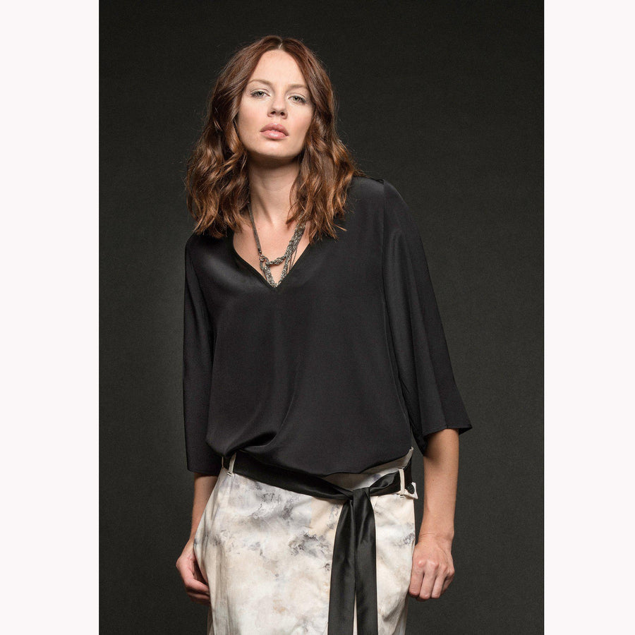 Vanna casacca - silk blouse €167 TOP