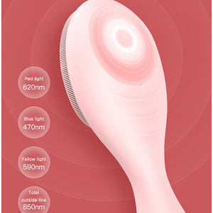 dewyglowy skin care device konka electric silicone facial brush head lightwave 4 settings