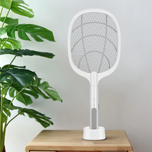 Load image into Gallery viewer, 2-IN-1 ELECTRIC SWATTER & NIGHT MOSQUITO KILLING LAMP
