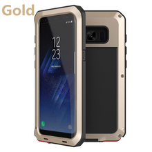 Load image into Gallery viewer, Luxury Armor Metal Heavy Duty Protection Case for Samsung