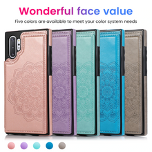 Load image into Gallery viewer, 2020 New Style Luxury Wallet Cover For Samsung Note10/10+