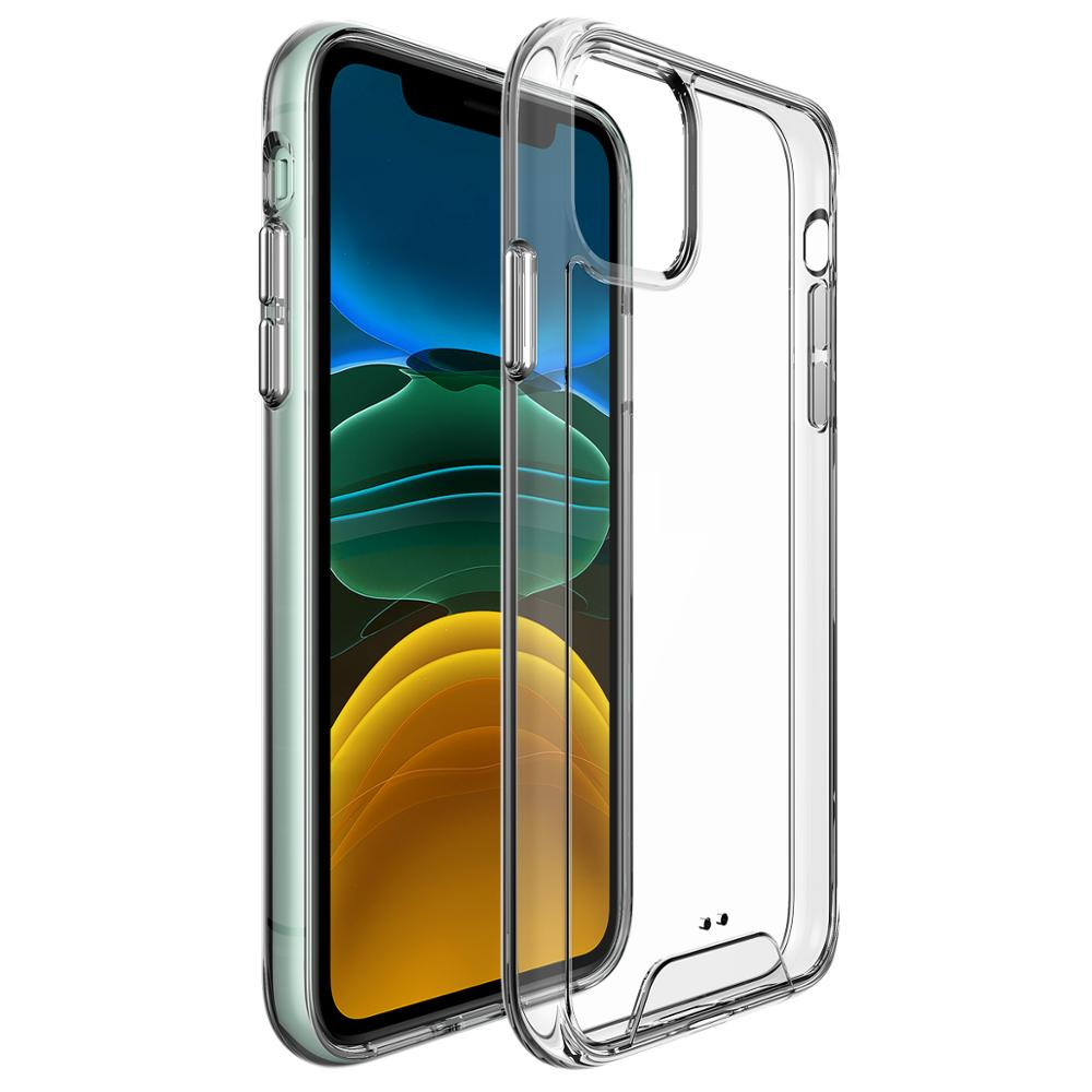 Space Full Clear Shockproof Acrylic Cases For iPhone