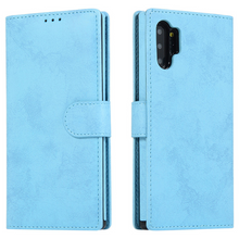 Load image into Gallery viewer, Retro Leather Flip Wallet Card Case For Samsung Galaxy Note Note 10+