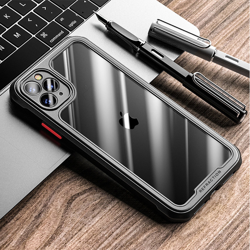 Luxury Transparent Case For iPhone 11&12 Series