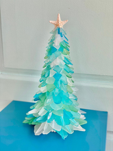 Load image into Gallery viewer, Christmas Sea Glass Tree