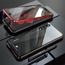 Load image into Gallery viewer, For Huawei P20 P20 PRO Front Back Glass Magnetic Adsorption Metal Case Cover