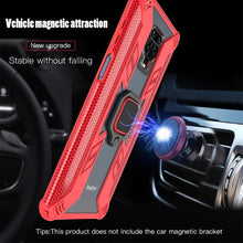 Load image into Gallery viewer, Warrior Style Magnetic Ring Kickstand Phone Cover For Redmi Note 9S