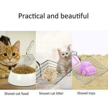 Load image into Gallery viewer, Pet Cleaning Tool New Cat Litter Shovel Stainless Steel Large Metal Tofu Sand Plating Process