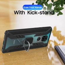 Load image into Gallery viewer, Warrior Style Magnetic Ring Kickstand Phone Cover For Redmi Note9
