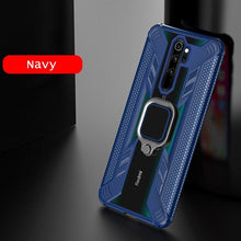 Load image into Gallery viewer, Warrior Style Magnetic Ring Kickstand Phone Cover for Xiaomi Redmi Note8 Pro
