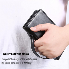 Load image into Gallery viewer, Detachable Magnetic With Wrist Strap Case For iPhone