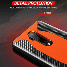 Load image into Gallery viewer, Original Carbon Fiber Genuine Leather Sports Car Case for Oneplus