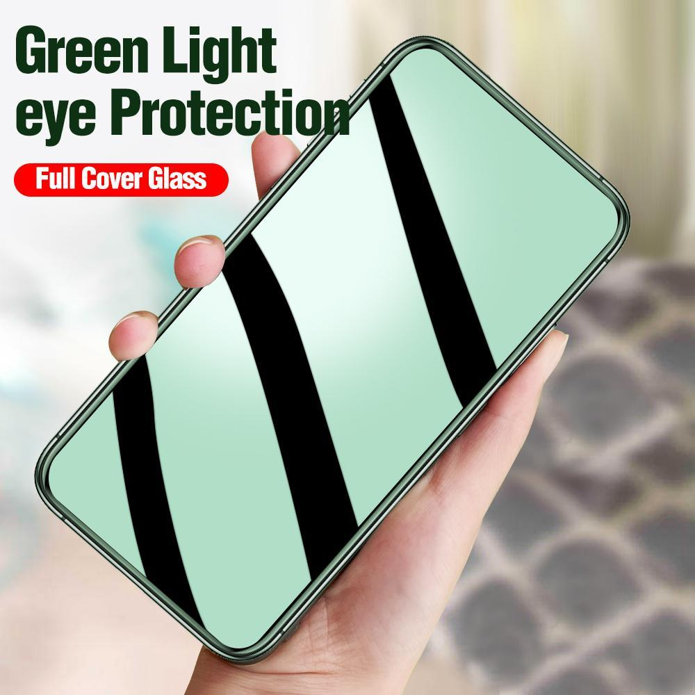 Green Light Real Eye Protection Tempered Glass For OPPO