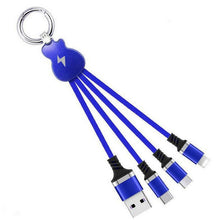 Load image into Gallery viewer, Multi 3 In 1 Guitar Design Charging Cable