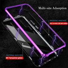 Load image into Gallery viewer, Magnetic Adsorption Metal Phone Case For Huawei P20 / P20 Pro