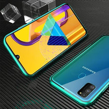 Load image into Gallery viewer, Double-Sided Glass Magnetic Adsorption Metal Bumper Case For Samsung M30/M30s