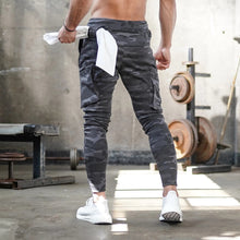 Load image into Gallery viewer, Camo Sport Pants Men Fitness Men Joggers Running Workout Training Pants Sportwear Trousers Male Gym Cargo Pants Men Sweatpants