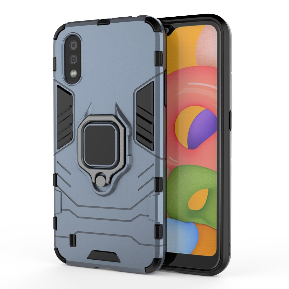 2020 Ultra-thin 4 in 1 Special Armor Case For Samsung A01/A11 (EU)