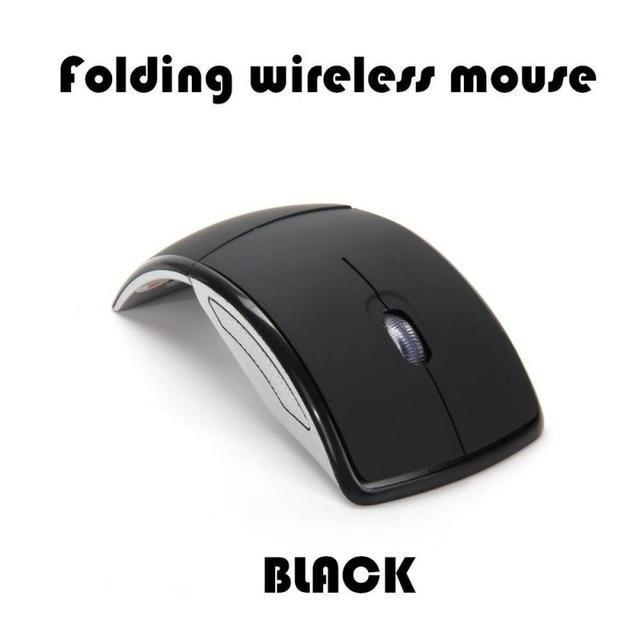 Ergonomic Foldable Travel Mouse