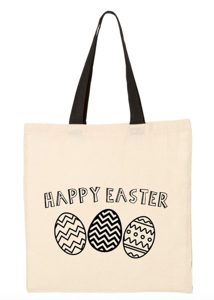 Easter Egg Tote ~ Color My Own