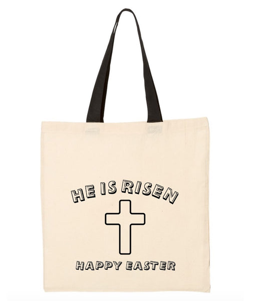 He Is Risen Tote ~ Color My Own