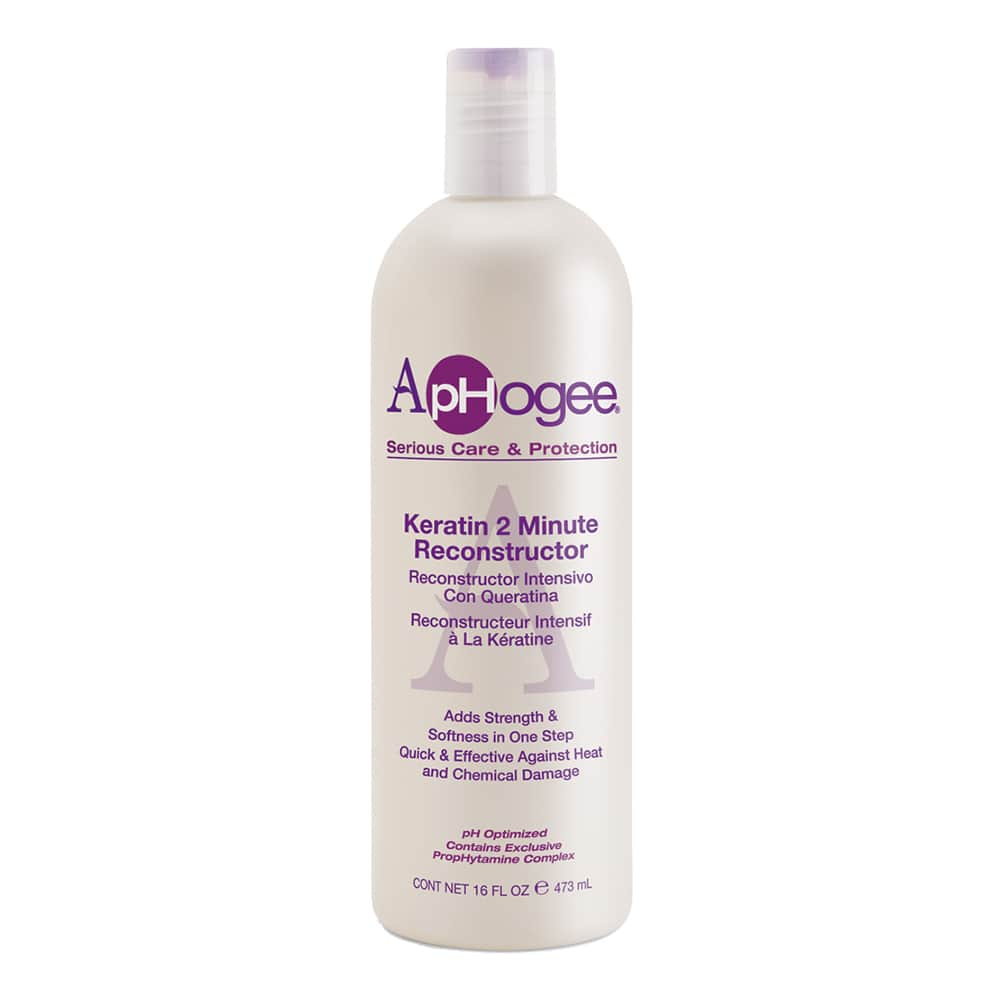 Aphogee Keratin 2 Minute Reconstructor 16 fl. oz Treatments Aphogee
