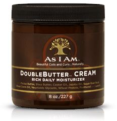 As I Am DoubleButter Cream 8oz Moisture Sealants As I Am