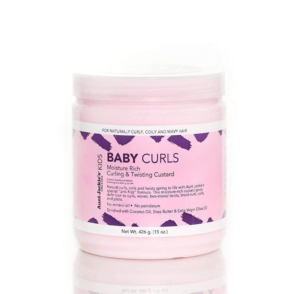 Aunt Jackie's Baby Girl Curls – Curling & Twisting Custard Children's Products Aunt Jackie's