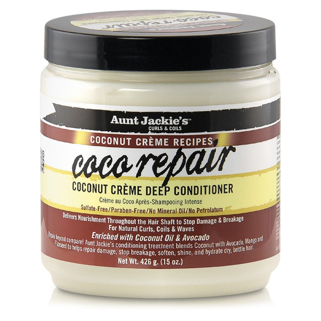 Aunt Jackie's COCO REPAIR Deep Conditioner 15 oz Conditioners & Deep Conditioners Aunt Jackie's