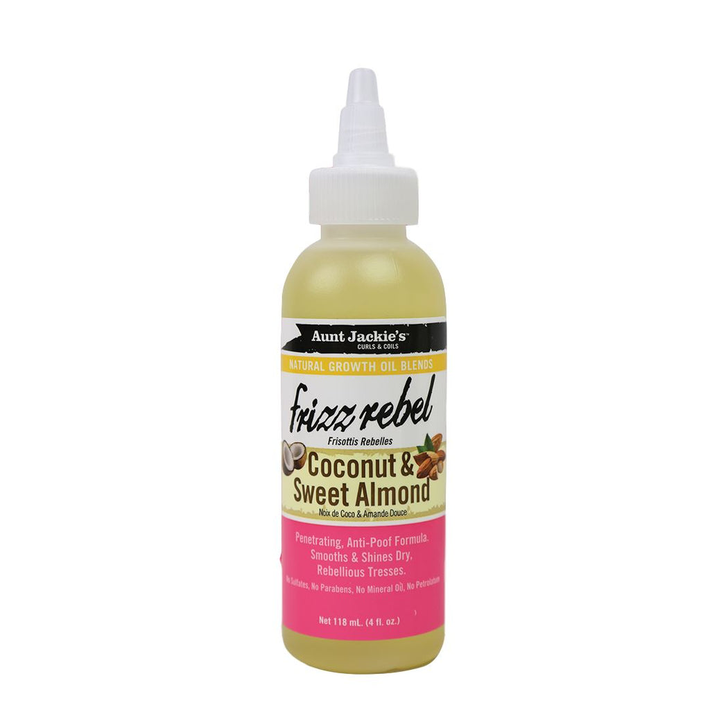 Aunt Jackie's Frizz Rebel Coconut & Sweet Almond Oil Oils Aunt Jackie's