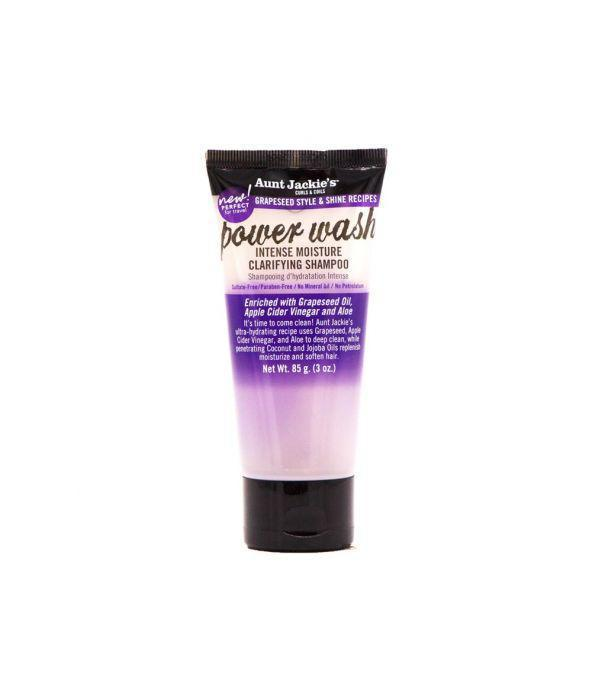 Aunt Jackie's Grapeseed Collection Power Wash Intense Moisture Clarifying Shampoo Shampoos Aunt Jackie's 3 oz
