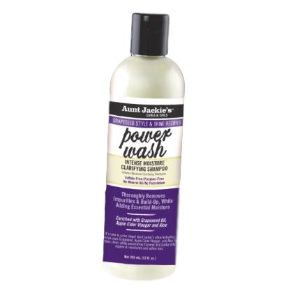 Aunt Jackie's Grapeseed Collection Power Wash Intense Moisture Clarifying Shampoo Shampoos Aunt Jackie's