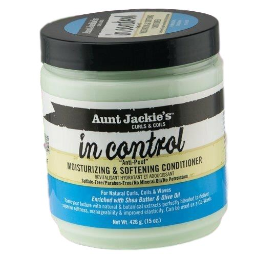 Aunt Jackie's In Control Moisturizing & Softening Conditioner 15 oz Conditioners & Deep Conditioners Aunt Jackie's
