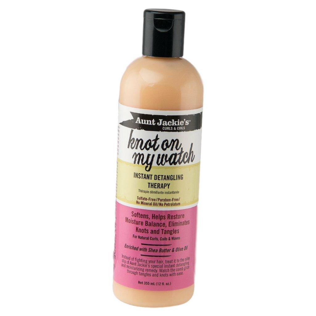 Aunt Jackie's Knot On My Watch Instant Detangling Therapy 12 oz Leave-in Conditioners Aunt Jackie's