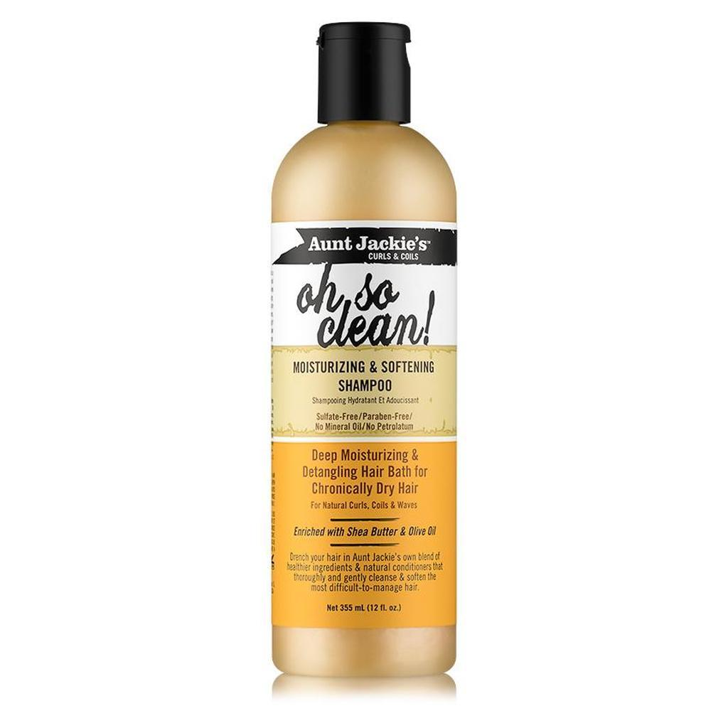 Aunt Jackie's Oh So Clean Moisturizing & Softening Shampoo 12 oz Shampoos Aunt Jackie's