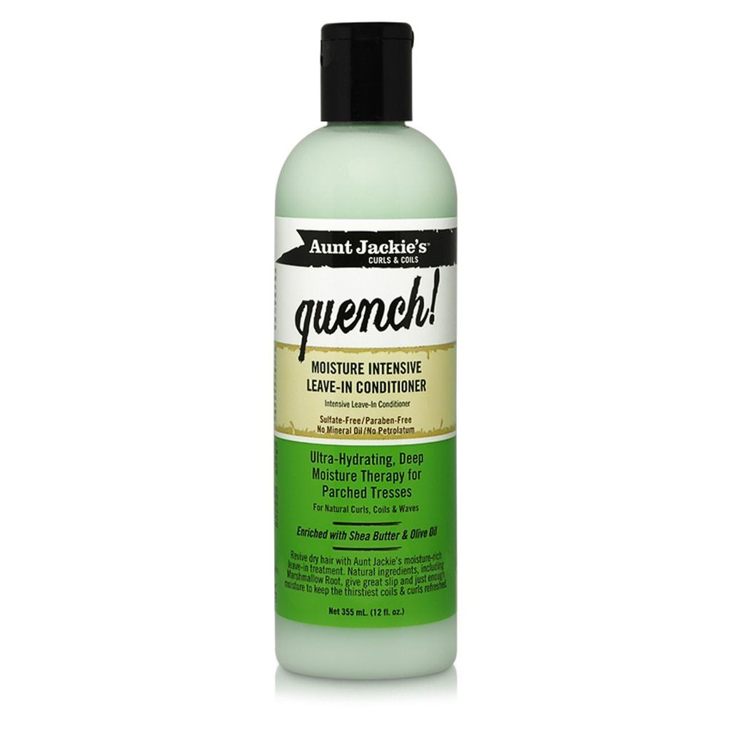 Aunt Jackie's QUENCH! Moisture Intensive Leave-In Conditioner 12 fl. oz Leave-in Conditioners Aunt Jackie's