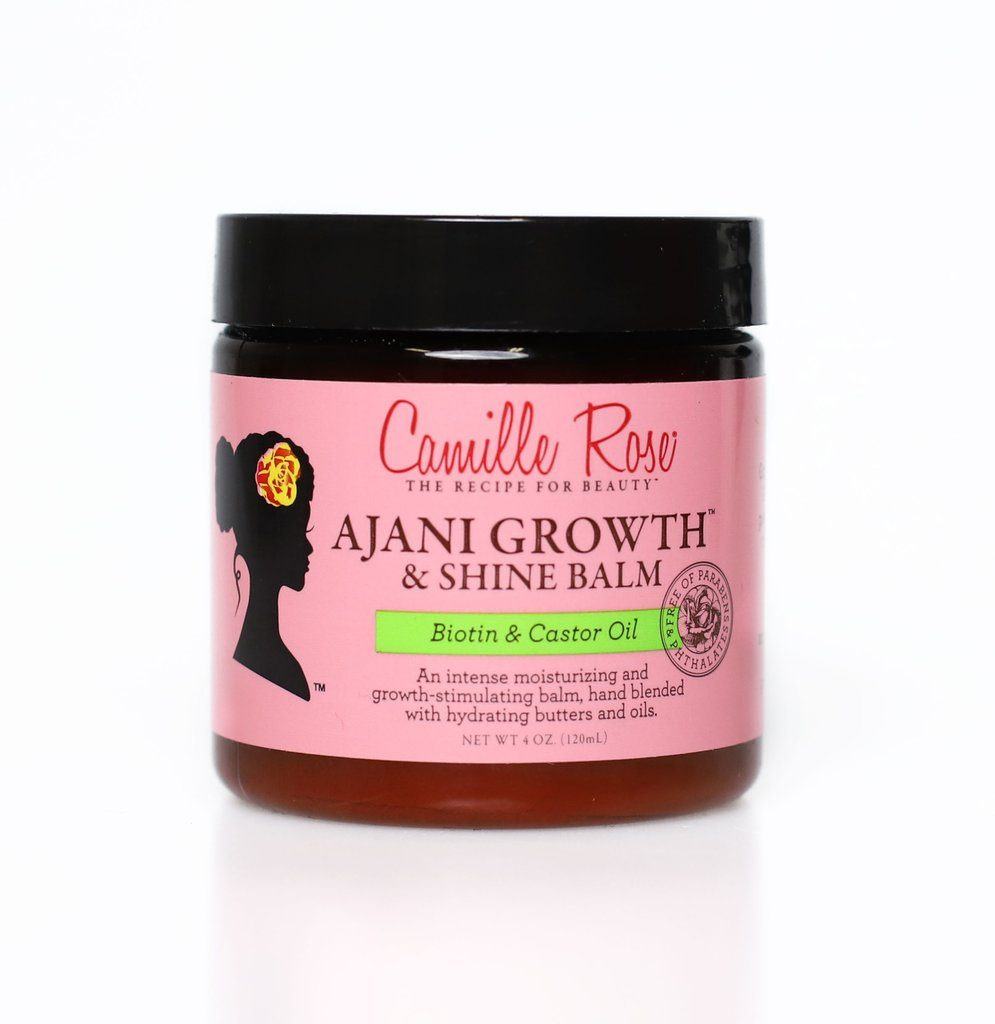 Camille Rose Ajani Growth and Shine Balm Moisture Sealant Camille Rose
