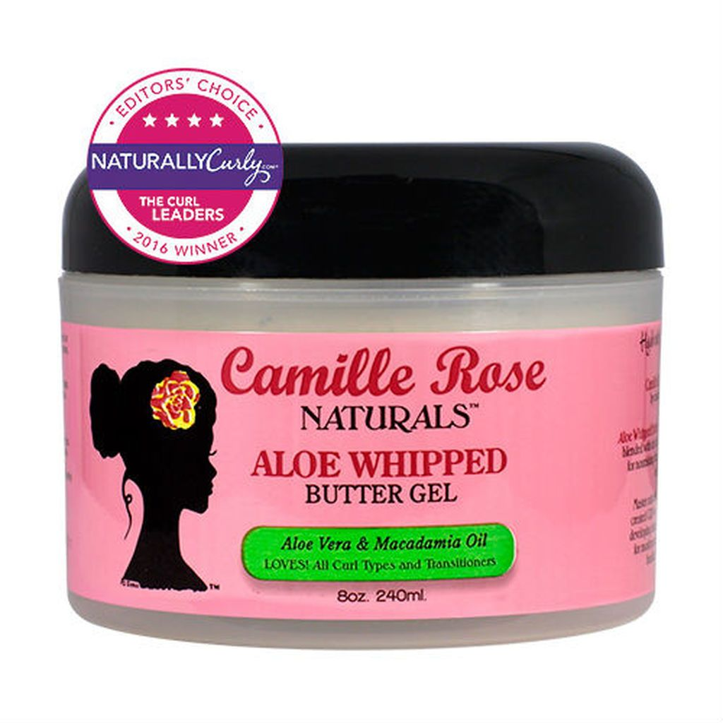 Camille Rose Aloe Whipped Butter Gel Moisture Sealant Camille Rose