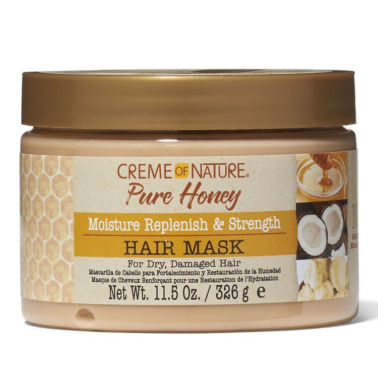 Creme of Nature Pure Honey Moisturizing Dry Defense Hair Mask Beauty Club Outlet