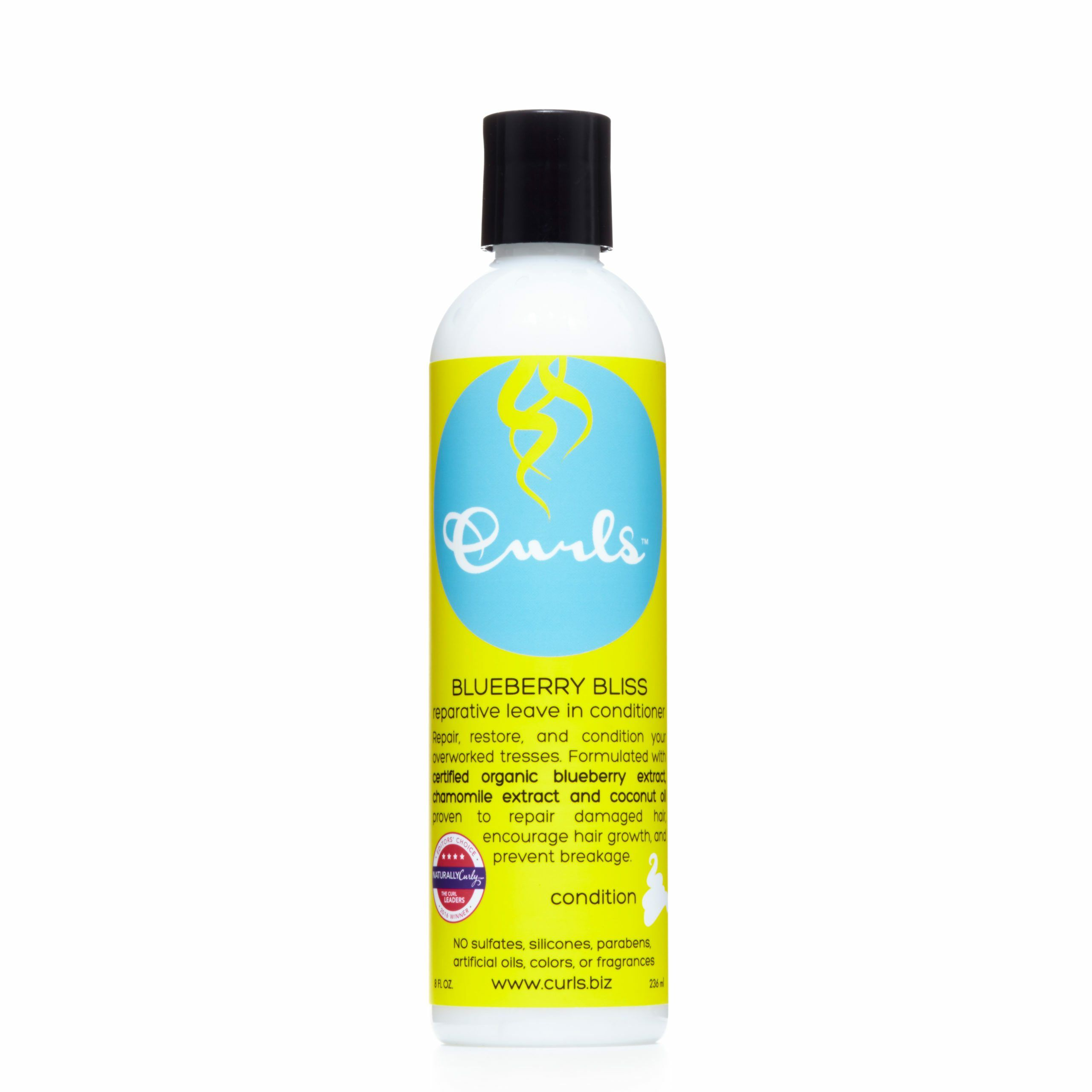 Curls Blueberry Blueberry Bliss Reparative Leave In Conditioner Leave-in Conditioners Curls