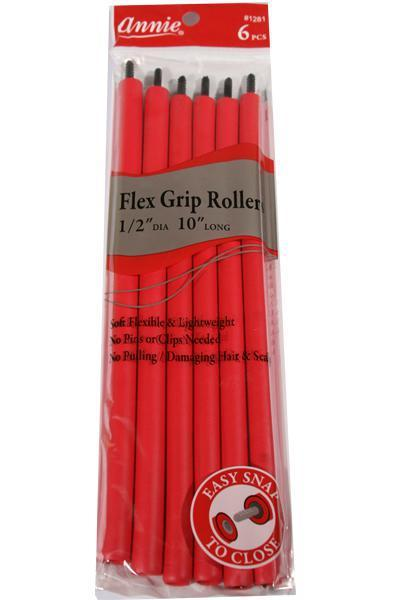 "Flex Grip Rollers Accessories Annie (6 in each pack) 1/2"" Diameter and 10"" Long"