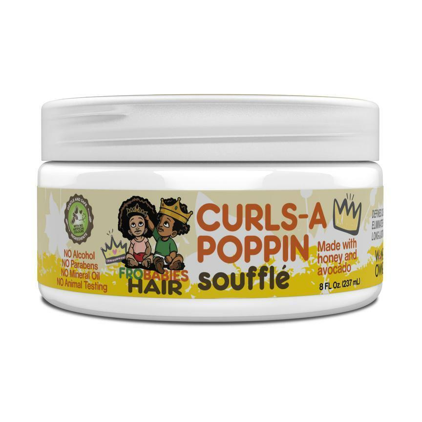 Fro Babies Curls-A-Poppin Souffle Children's Products Fro Babies
