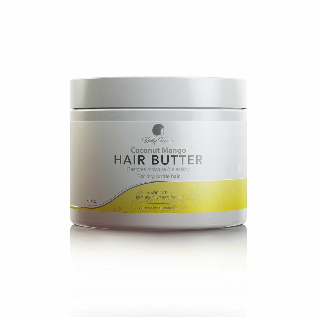 Kinky Tresses Coconut Mango Hair Butter Moisture Sealants Kinky Tresses