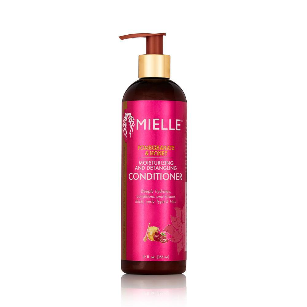 Mielle Organics Pomegranate & Honey Moisturizing and Detangling Conditioner 12 oz Conditioners & Deep Conditioners Mielle Organics