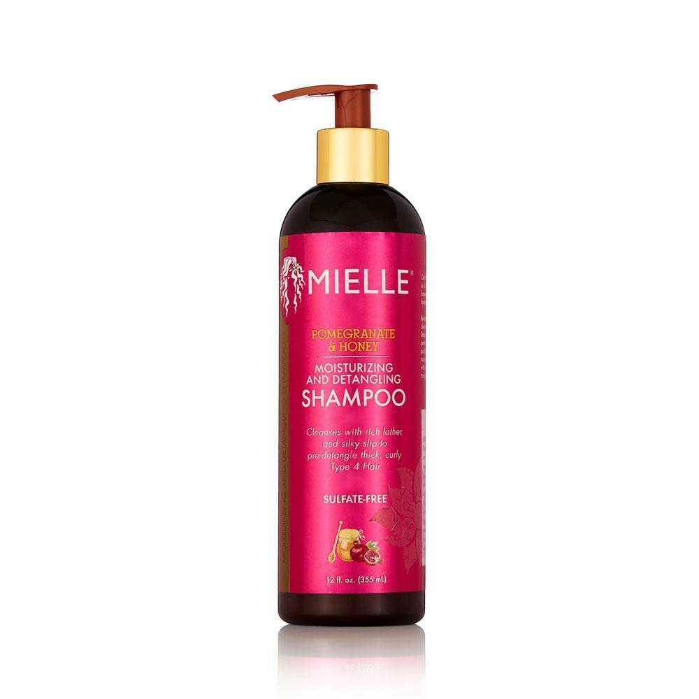 Mielle Organics Pomegranate & Honey Moisturizing and Detangling Shampoo 12 oz Shampoos Mielle Organics