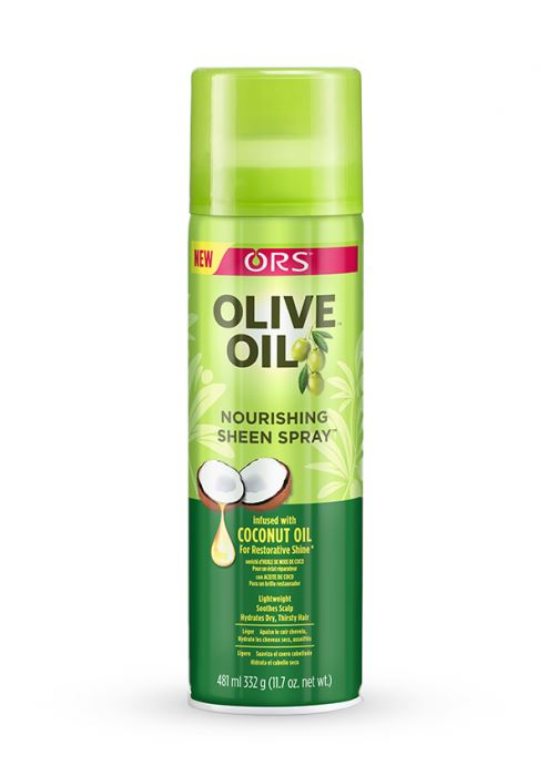 ORS Olive Oil Nourishing Sheen Spray, 11.70 oz. Styling & Holding Products ORS