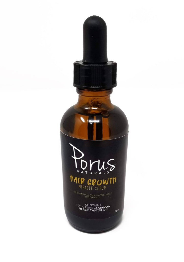 Porus Naturals Hair Growth Miracle Serum Treatments Porus Naturals